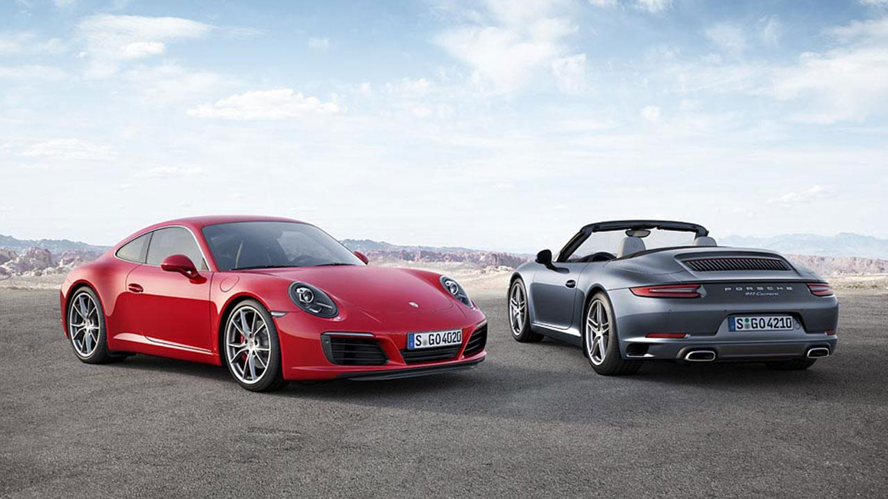 Porsche 911 Carrera - Coupé und Cabrio