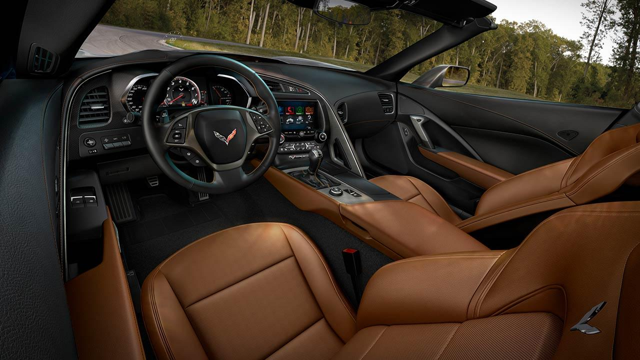 Chevrolet Corvette Stingray Coupé - Cockpit