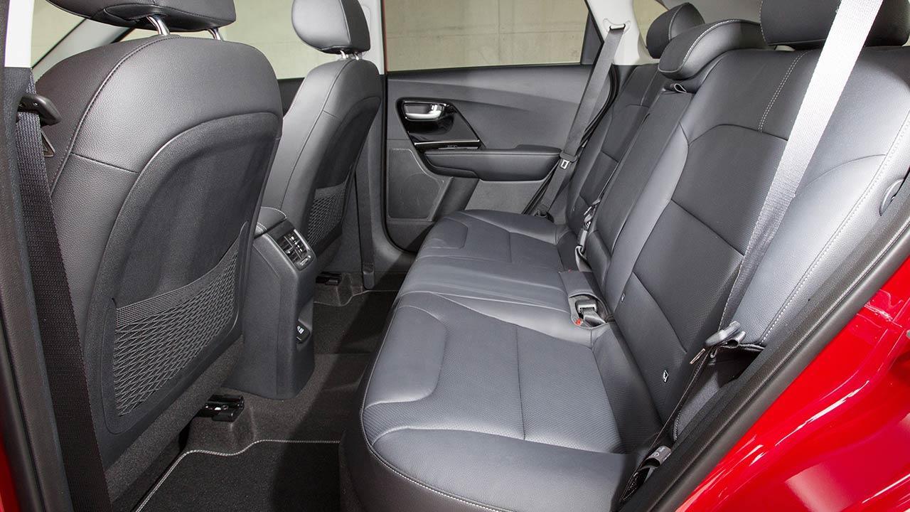 Kia Niro Hybrid - Rücksitze
