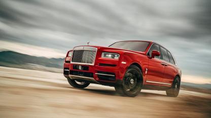 Rolls Royce Cullinan -  Frontansicht