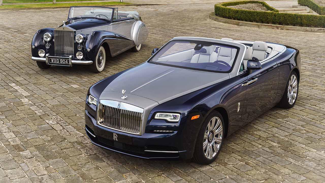 Rolls Royce Dawn Cabrio - Cabria alt und neu