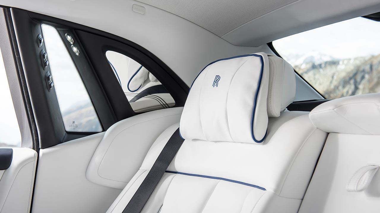 Rolls Royce Phantom - Rücksitz Kopflehne