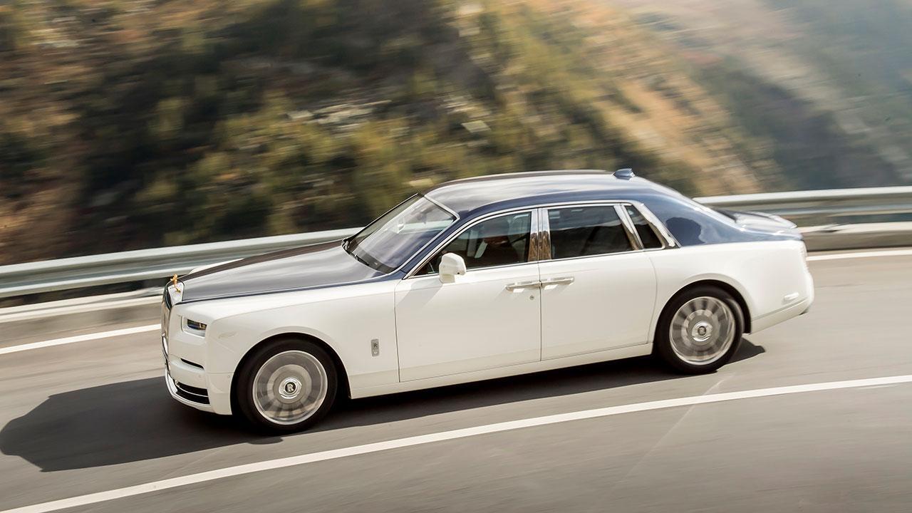 Rolls Royce Phantom - Seitenansicht