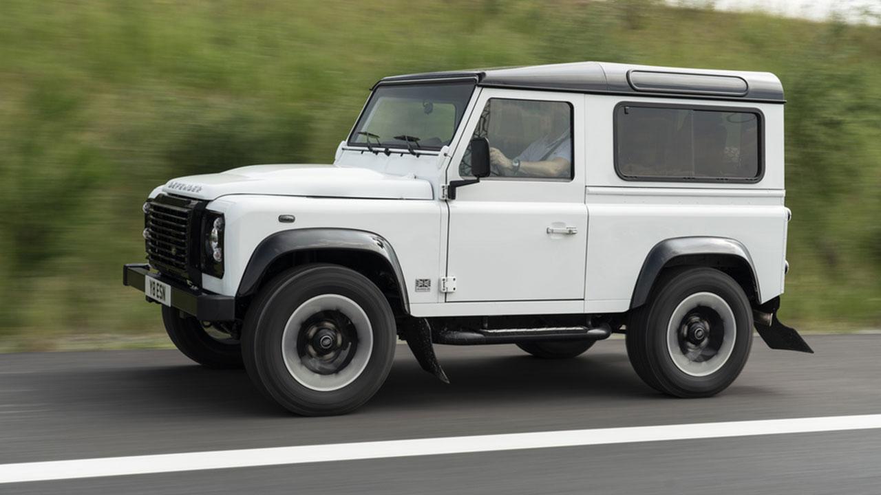 Land Rover Defender - Seitenansicht