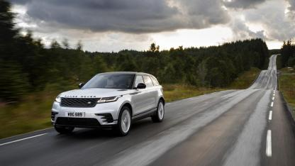 Range Rover Velar - auf der Landstraße