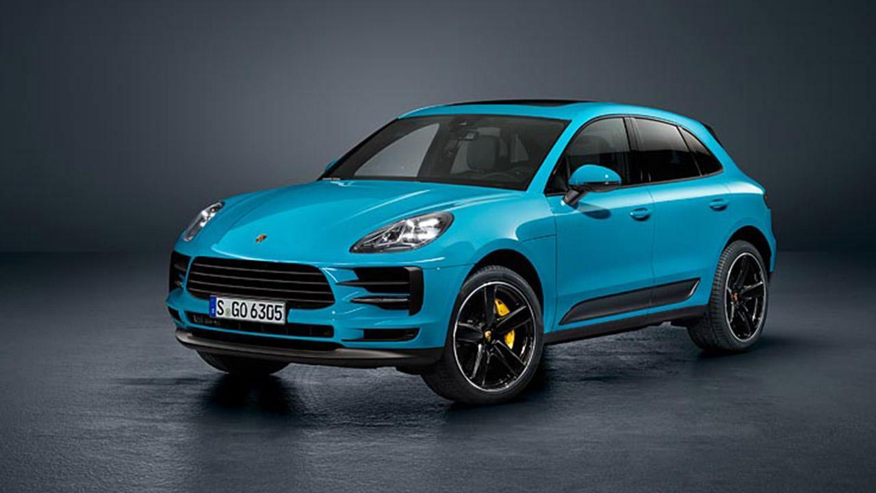 Porsche Macan 2018 - Frontalansicht