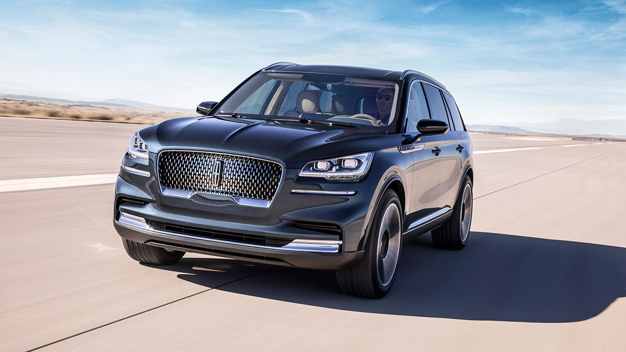 Lincoln Aviator - Frontansicht