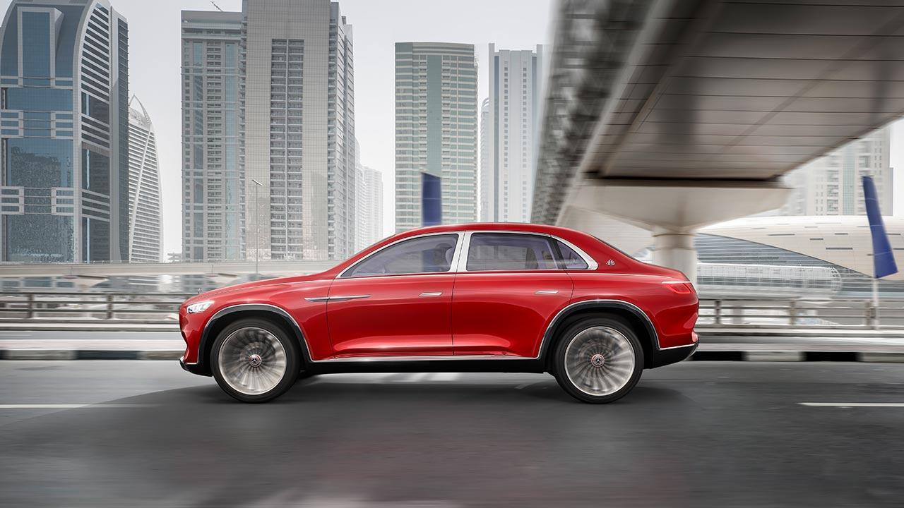 Vision Mercedes-Maybach Ultimate Luxury - Seitenansicht