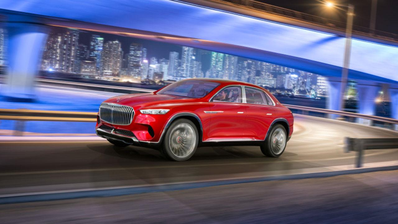 Vision Mercedes-Maybach Ultimate Luxury - in der Stadt