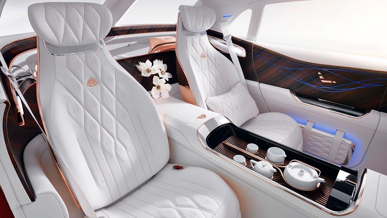Vision Mercedes-Maybach Ultimate Luxury - Rückbank