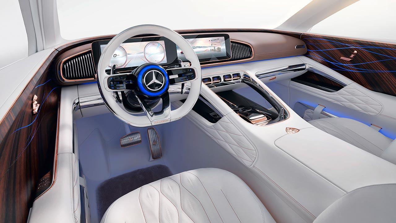 Vision Mercedes-Maybach Ultimate Luxury - Cockpit