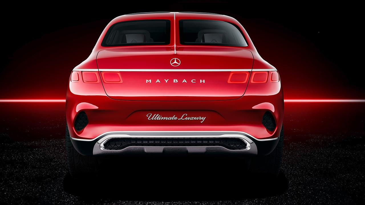 Vision Mercedes-Maybach Ultimate Luxury - Heckansicht