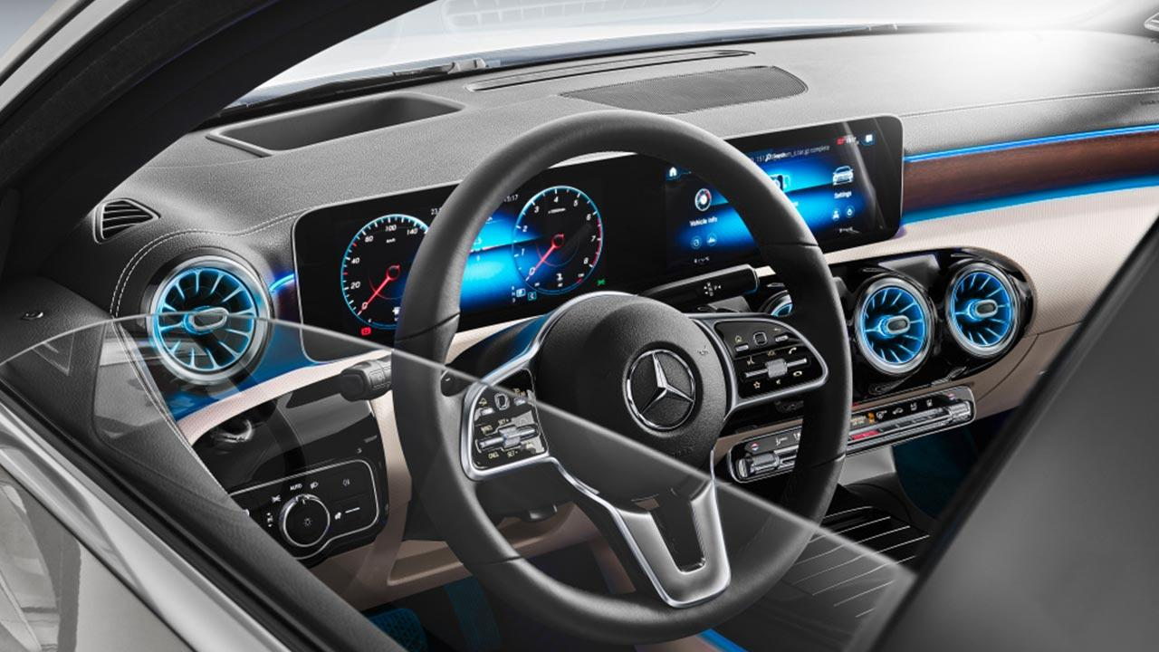 Mercedes A-Klasse - Lenkrad