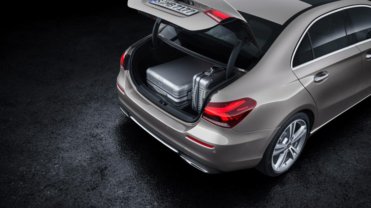 Mercedes A-Klasse - Kofferraum