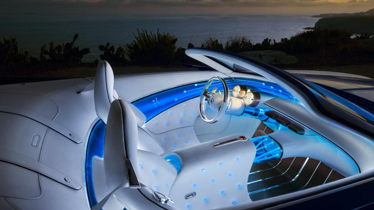 Vision Mercedes-Maybach 6 Cabrio - Cockpit