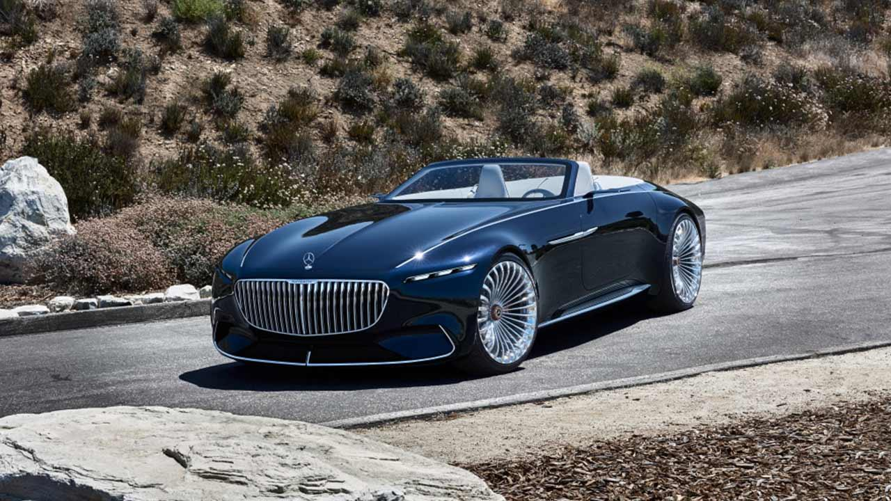 Vision Mercedes-Maybach 6 Cabrio - in der Wüste