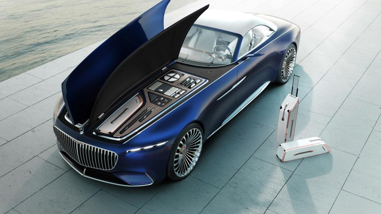 Vision Mercedes-Maybach 6 Cabrio - Kofferraum vorne