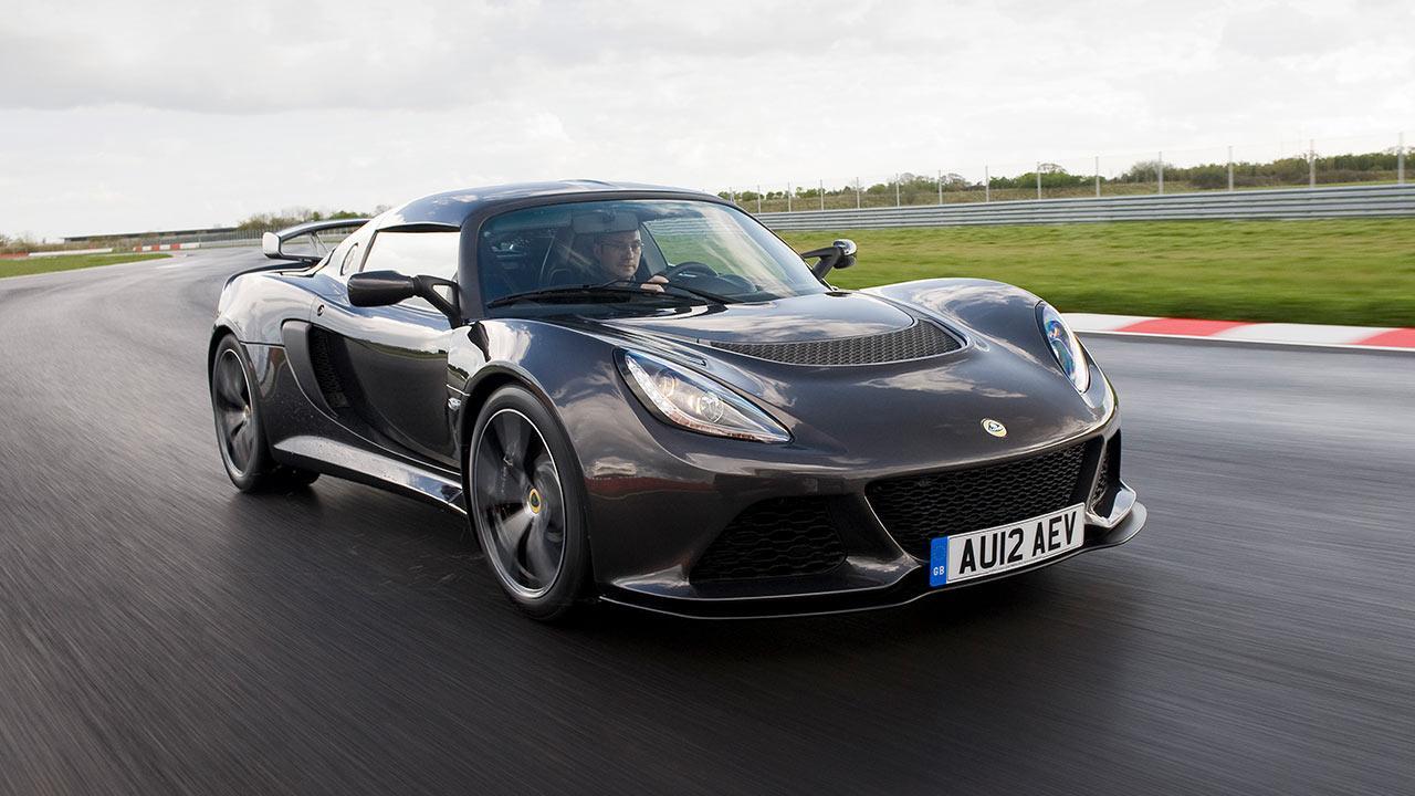 Lotus Exige S - auf der Rennstrecke