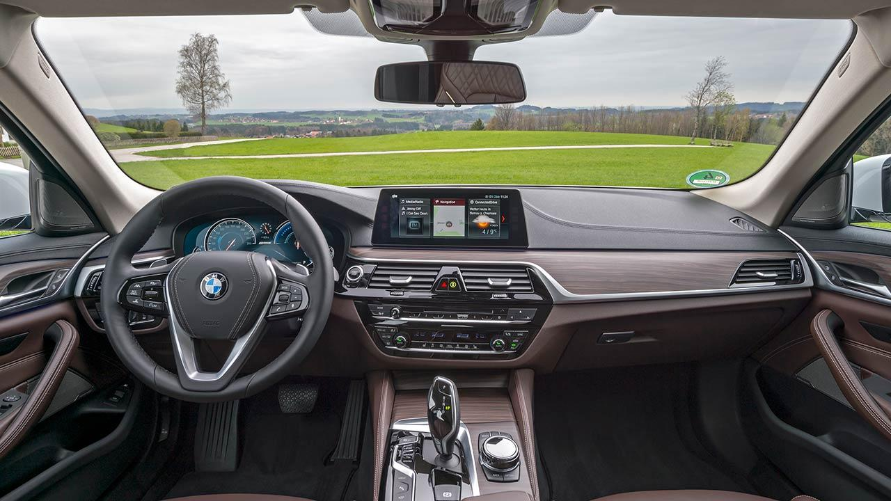 BMW 530e iPerformance - Cockpit