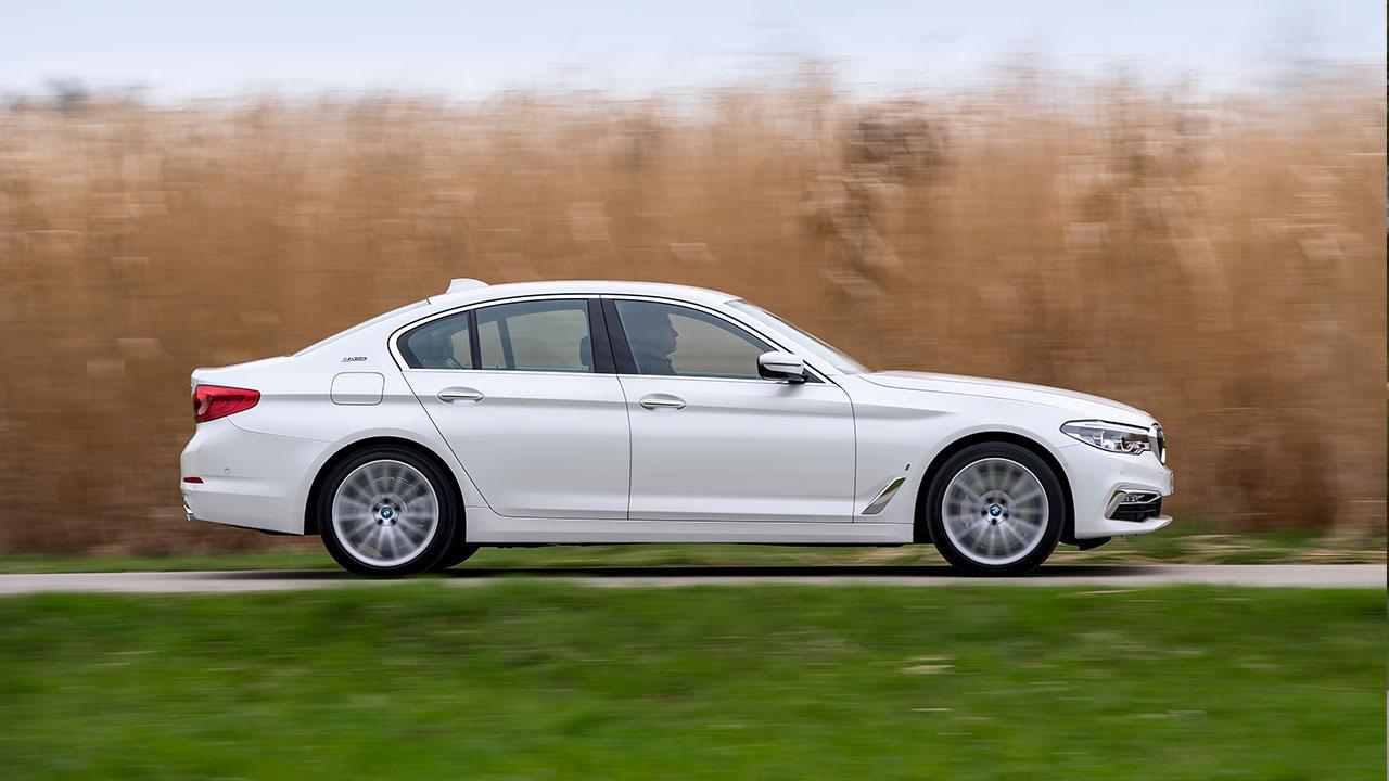BMW 530e iPerformance - Seitenansicht
