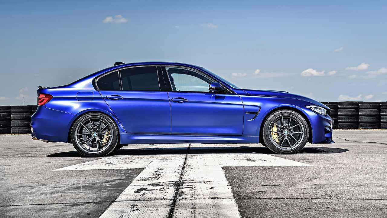 BMW M3 CS - Seitenansicht