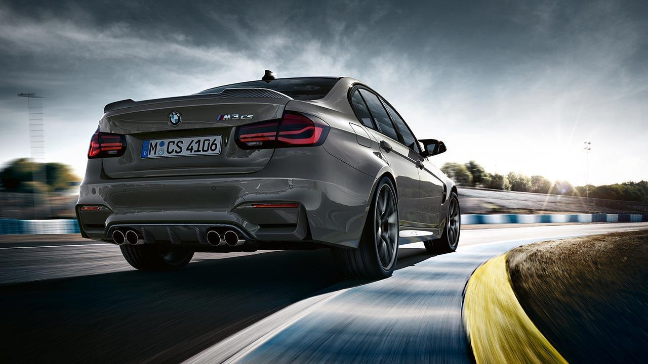 BMW M3 CS - Heckansicht
