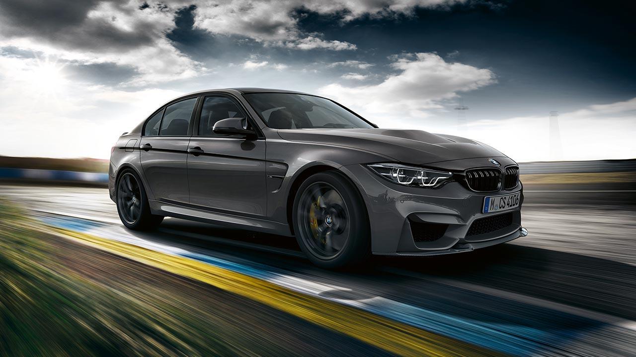 BMW M3 CS - auf der Rennstrecke