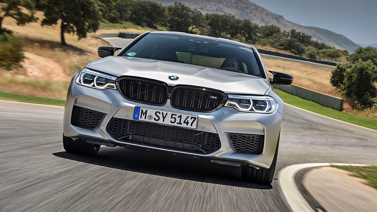 BMW M5 Competition - Frontansicht