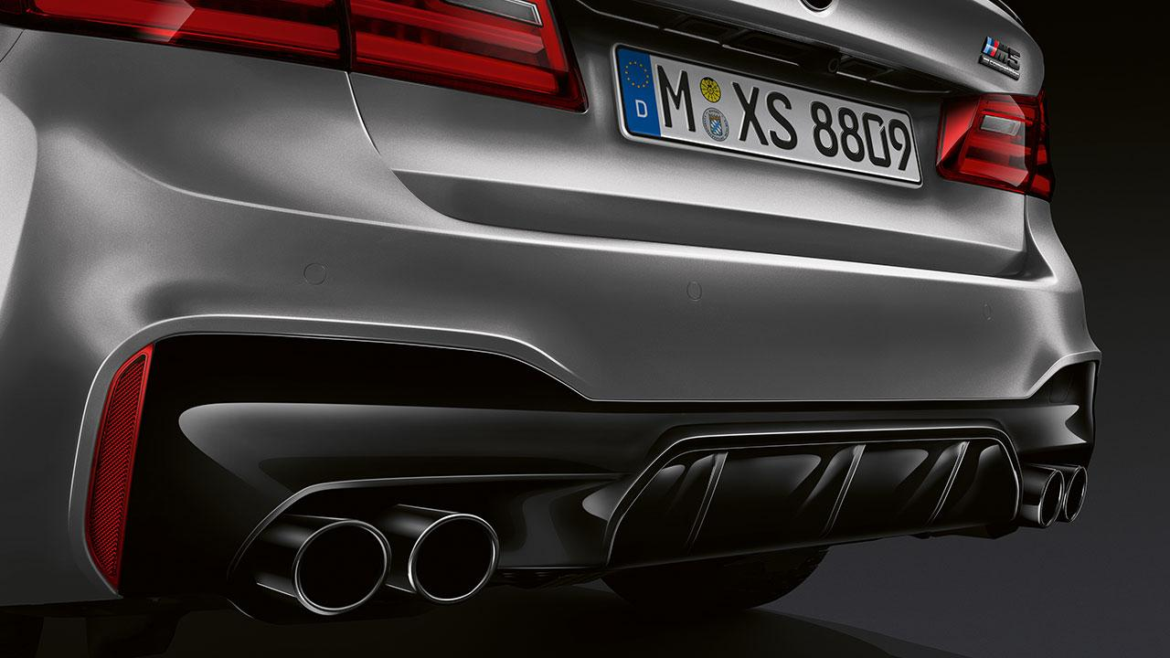 BMW M5 Competition - Heckansicht
