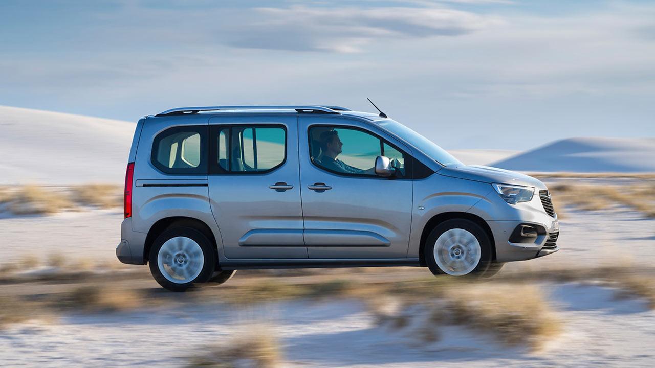 Opel Combo Life - Seitenansicht