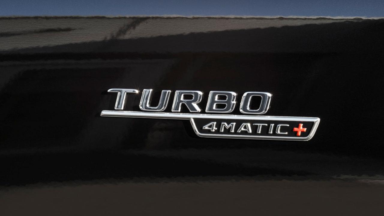 Mercedes-AMG E 53 4MATIC Cabrio - Schriftzug