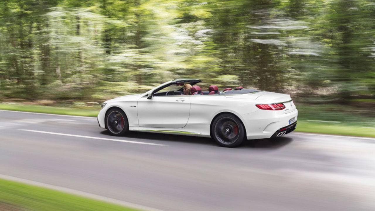 Mercedes-AMG S 63 4MATIC Cabrio - in voller Fahrt
