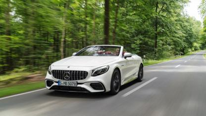 Mercedes-AMG S 63 4MATIC Cabrio - Frontansicht
