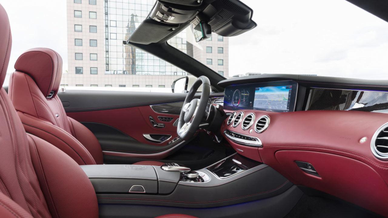 Mercedes-AMG S 63 4MATIC Cabrio - Vorderansicht