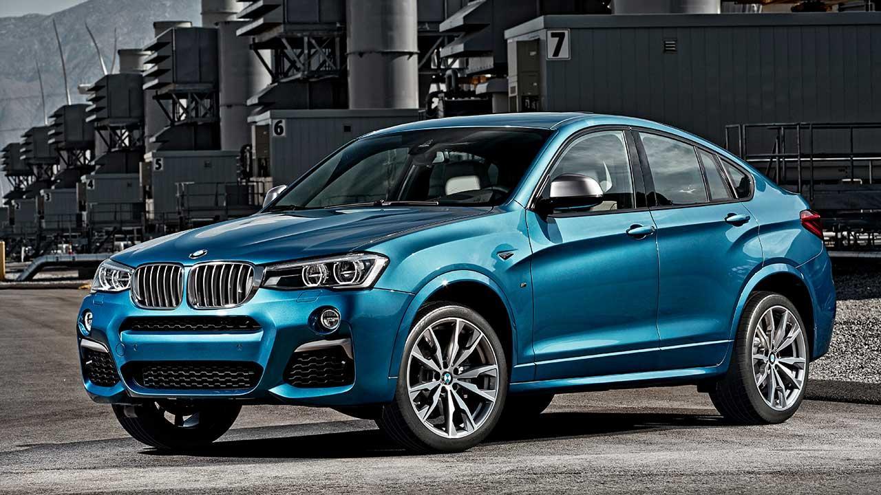 BMW X4 M40 - Seitenansicht