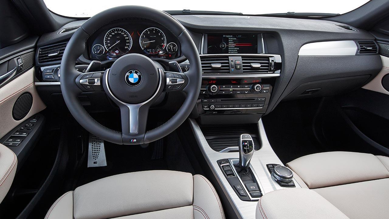 BMW X4 M40 - Cockpit