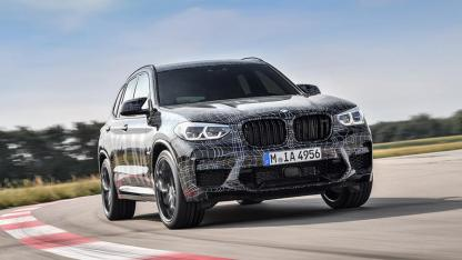BMW X3 M - auf der Rennstrecke
