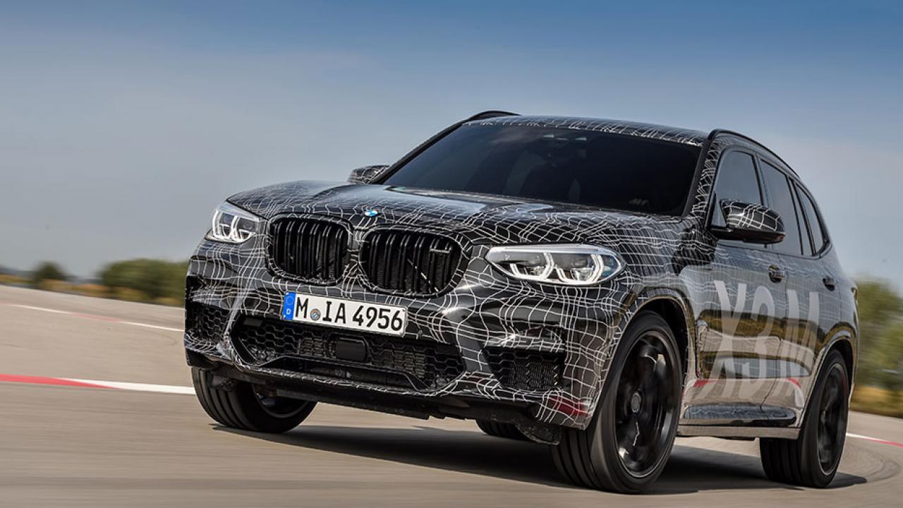 BMW X3 M - Frontansicht
