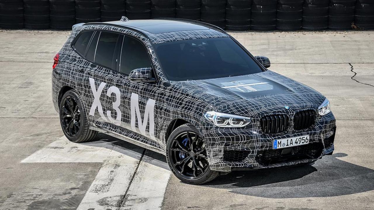 BMW X3 M - Frontansicht - seitliche Frontansicht