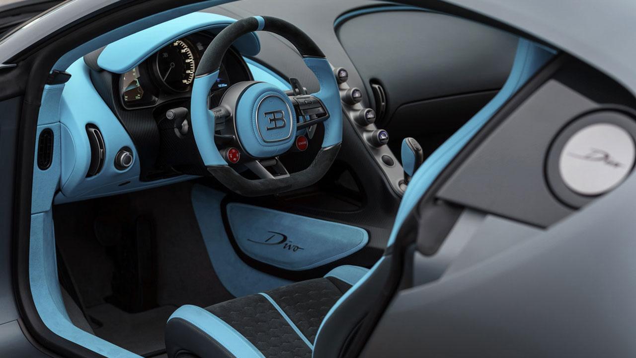 Bugatti Divo - Cockpit