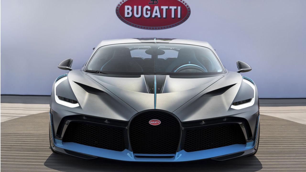 Bugatti Divo - Frontansicht