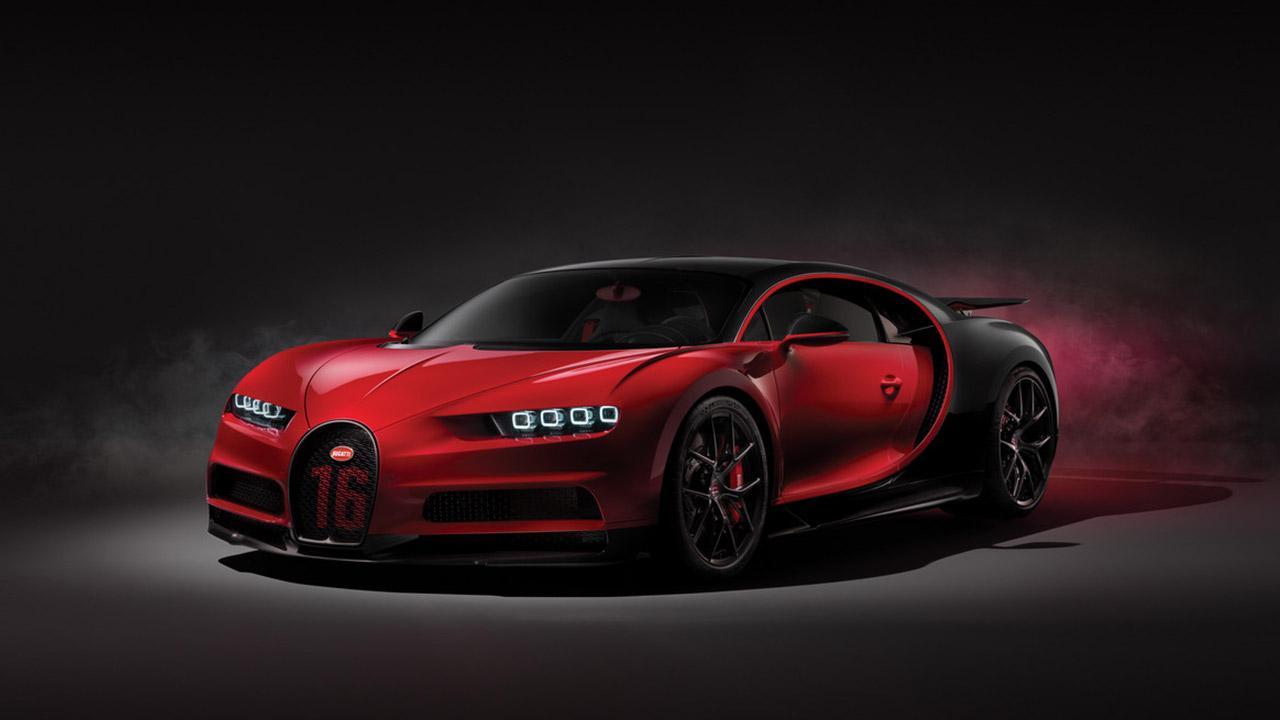 Bugatti Chiron Sport - Seitenansicht