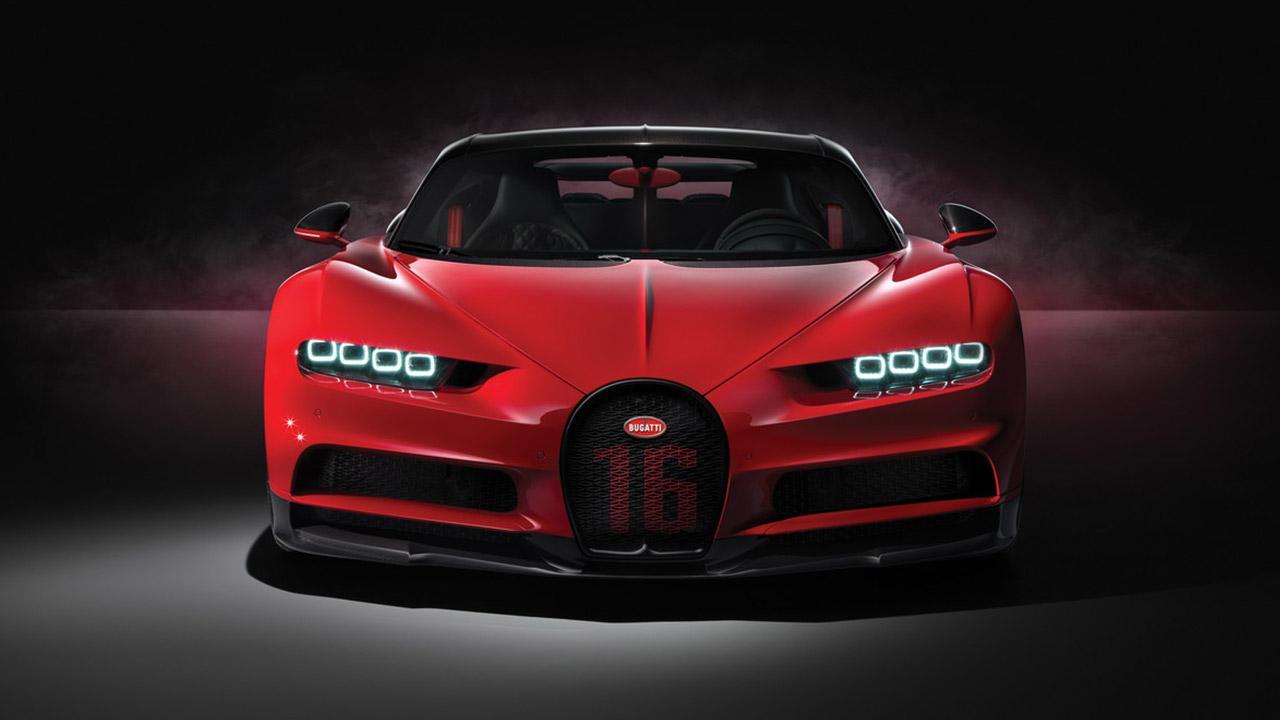 Bugatti Chiron Sport - Frontansicht