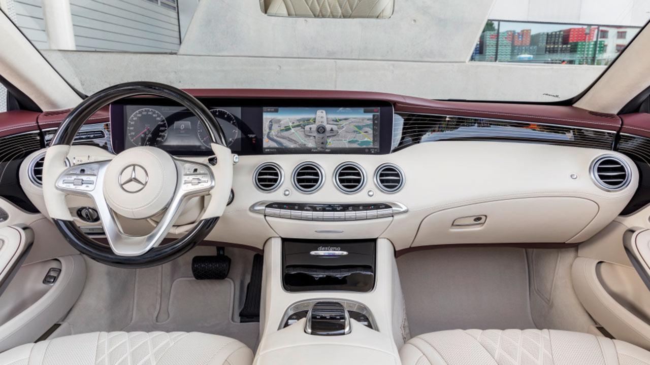 Mercedes-Benz S-Klasse Cabrio - Cockpit