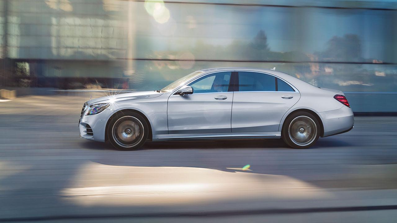 Mercedes-Benz S-Klasse - Seitenansicht