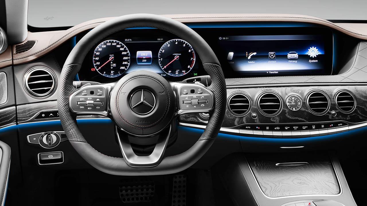 Mercedes-Benz S-Klasse - Lenkrad