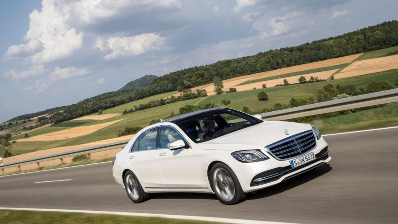 Mercedes-AMG S 65 - in voller Fahrt
