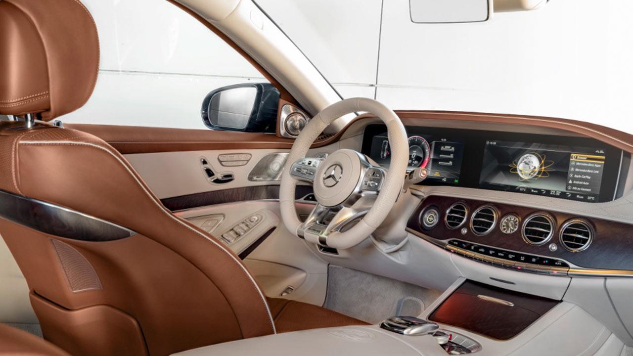Mercedes-AMG S 65 - Cockpit