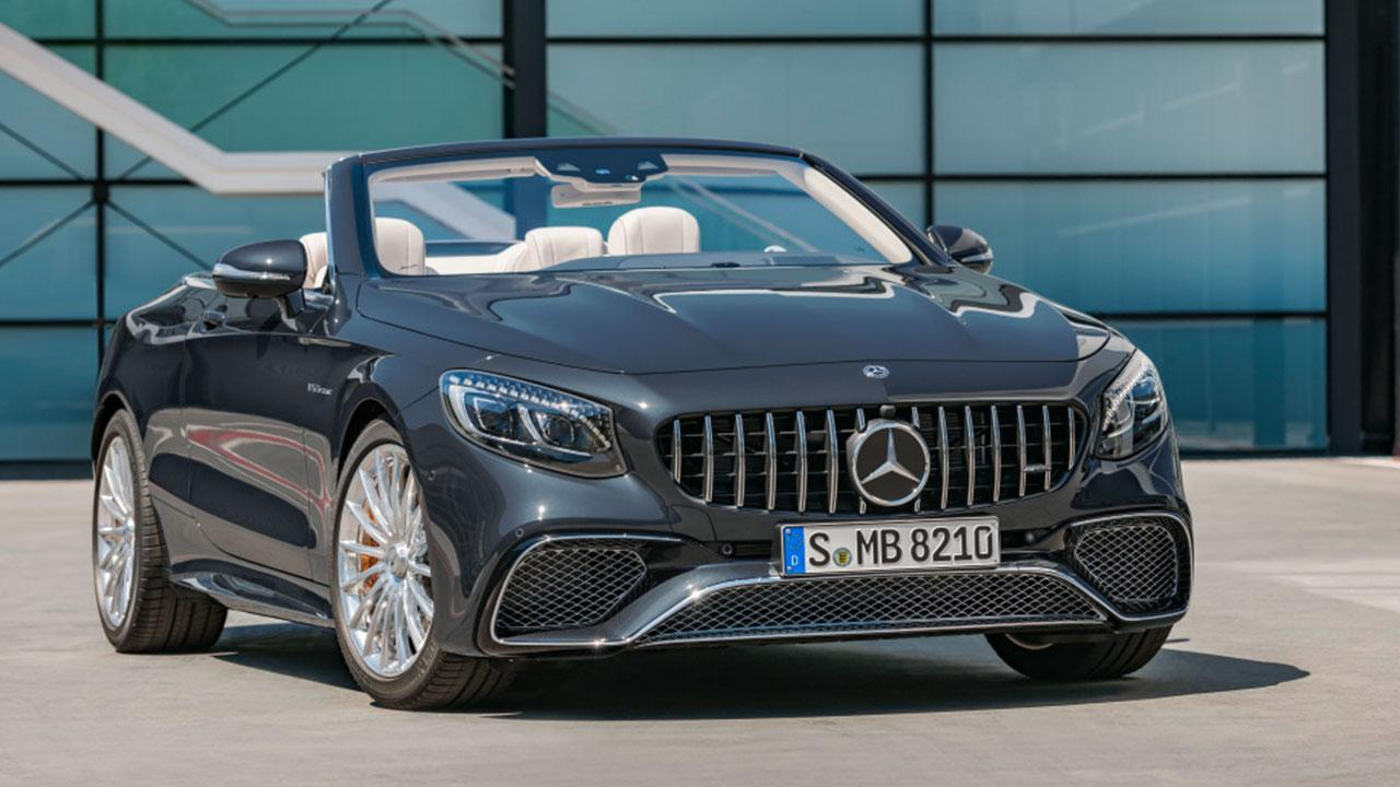 Mercedes-AMG S 65 Cabrio - Frontansicht