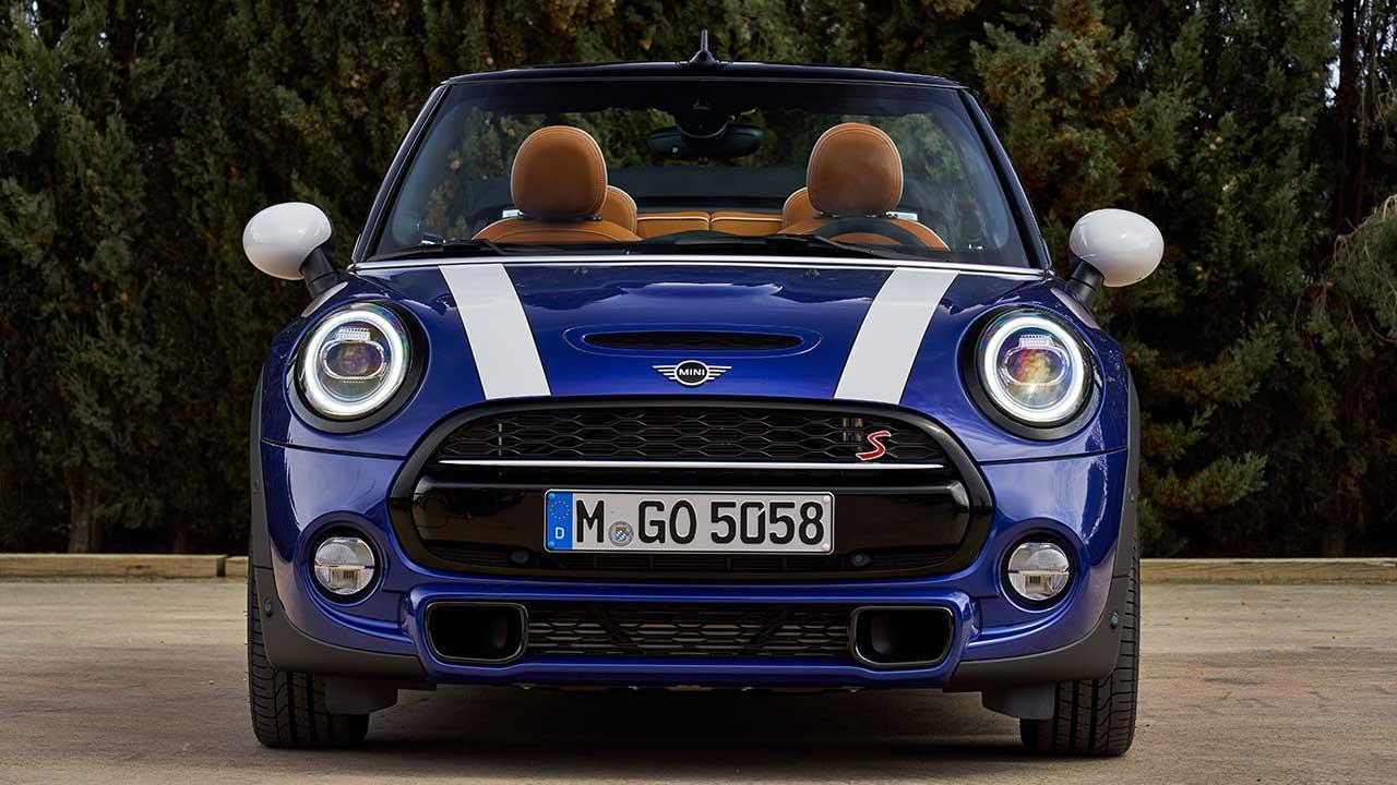 MINI 5-Türer, 3 Türer oder Cabrio - Cabrio Frontansicht